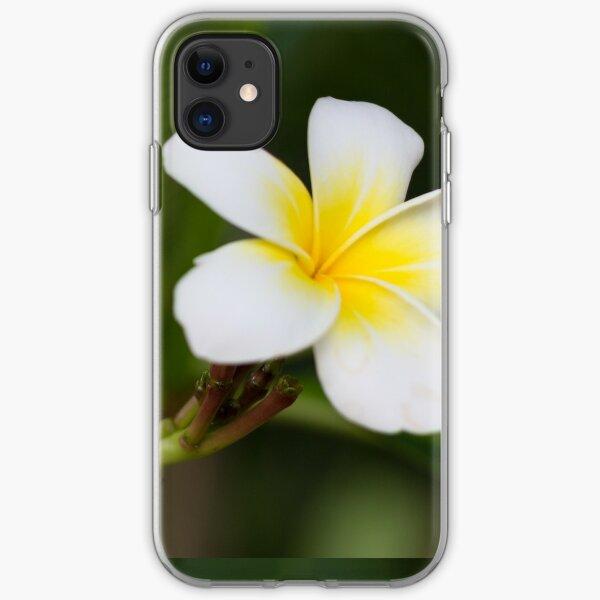 Frangipani leelawadee flowers iPhone Soft Case