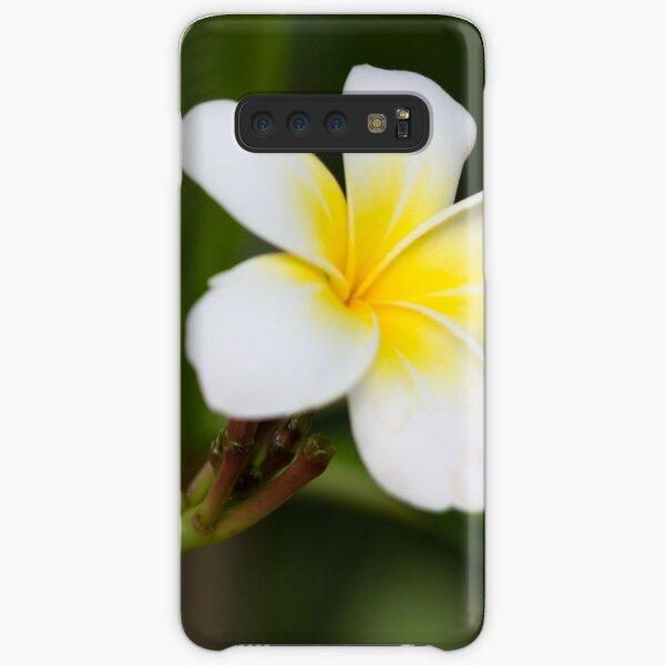 Frangipani leelawadee flowers Samsung Galaxy Snap Case