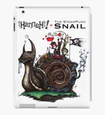 Hanna et l'escargot Steampunk Coque et skin adhésive iPad