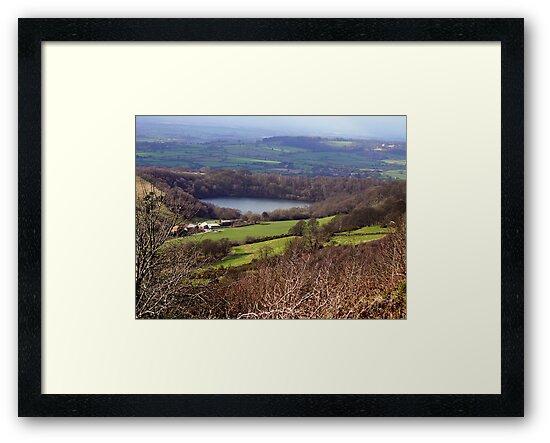 Lake Gormire  -  Yorkshire Moors N.P. by Trevor Kersley