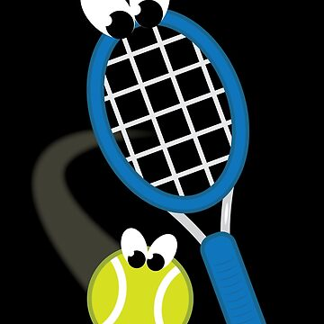 Tennis - With Googly Eyes by nsissyfour