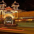 Ghost tram to Luna Park by Alf Caruana