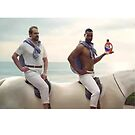 David Harbour super bowl tide commercial old spice by LukeWoodsDesign