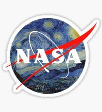 Nasa Starry Night Logo Sticker