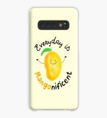 Everyday is Mango nificent - Punny Garden Case/Skin for Samsung Galaxy