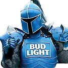The bud knight (dilly dilly) Super bowl commercial by LukeWoodsDesign