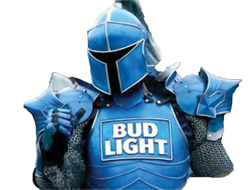 """The bud knight (dilly dilly) Super bowl commercial"" by LukeWoodsDesign 