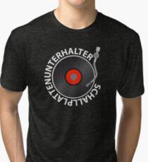 Records entertainers Tri-blend T-Shirt