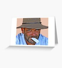 Smoko Greeting Card