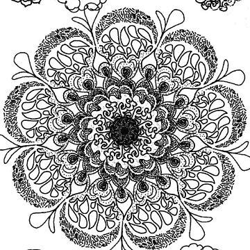 Blooming (B&W Version) by ZoeN-P
