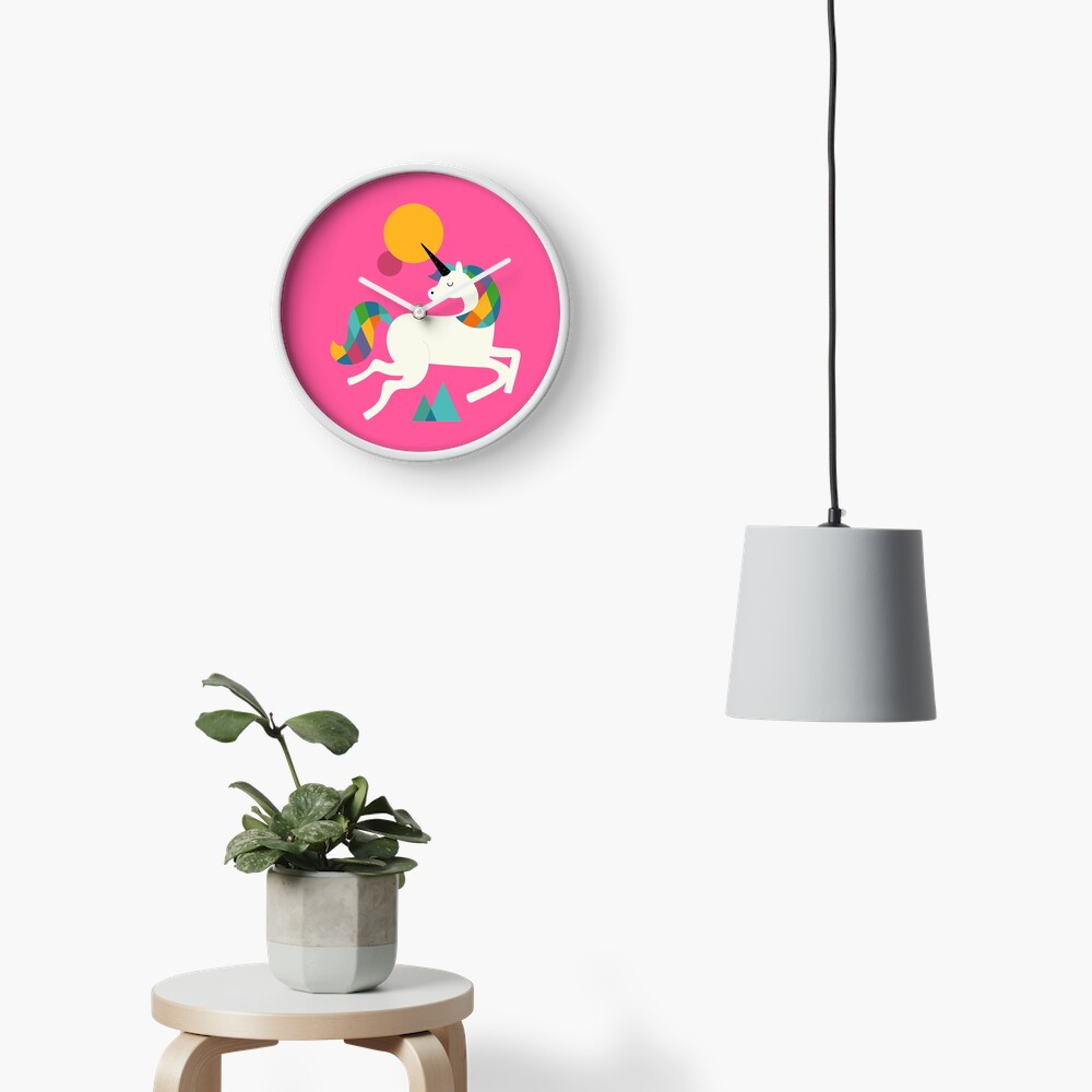 To be a unicorn Clock
