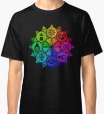 Digimon Crests Mandala  Classic T-Shirt
