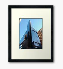Manhattan, New York, city Framed Print