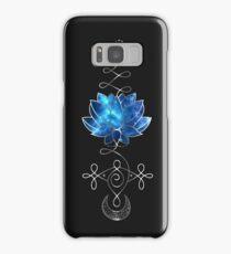 Lotus Unalome - Blue Galaxy Samsung Galaxy Case/Skin