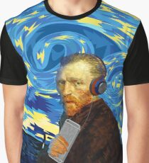 Funky Vangogh Graphic T-Shirt