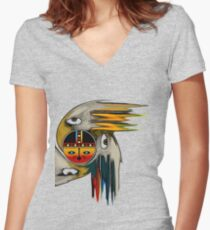Soaring Spirits Women's Fitted V-Neck T-Shirt
