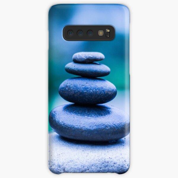 Zen stones blue Samsung Galaxy Snap Case