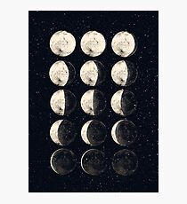 Moon Cycle Photographic Print