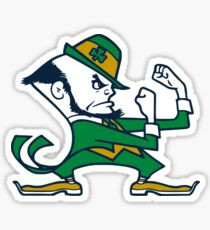 Fighting Irish Leprechaun Sticker