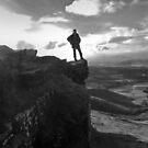 Brecon Beacons Outcrop by Nick  Gill