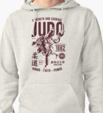 Sudadera con capucha FUERZA Y CORAJE JUDO 1882 HONOR - FEITH - POWER T-SHIRT