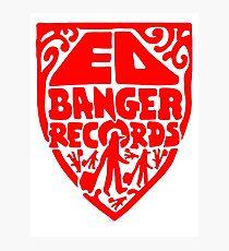 Ed Banger Records - Old Logo Photographic Print