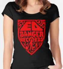 Ed Banger Records - Old Logo Women's Fitted Scoop T-Shirt