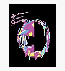 Daft Punk — RAM Remix Photographic Print