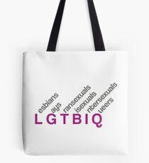 LGTBIQ design Bolsa de tela