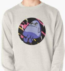 Grimace with Pink Background Pullover