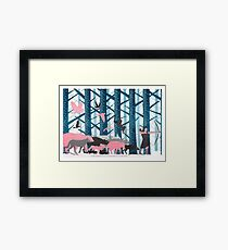 Hunting Framed Print