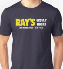 Camiseta ajustada Rays Occult Books Nueva York