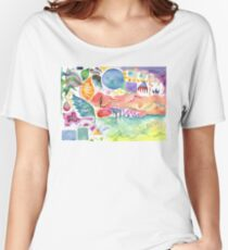 Interconnected Chaos / Play Women's Relaxed Fit T-Shirt
