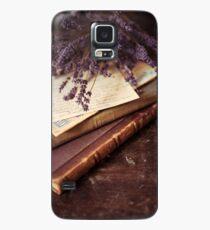 Funda/vinilo para Samsung Galaxy Still life with old books and lavenda