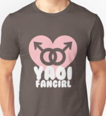 Yaoi Fangirl! Slim Fit T-Shirt