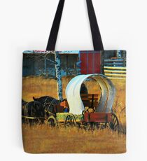 Chuckwagon Team Tote Bag