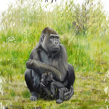 Gorilla's by CamphuijsenArt