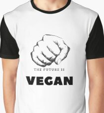 The future is VEGAN Graphic T-Shirt