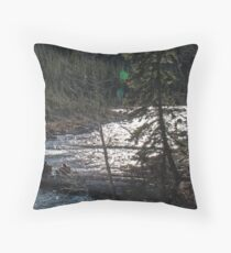 River Lovers Throw Pillow