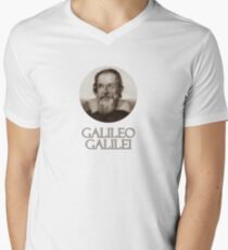 Great Minds in Science - Galileo Galilei Men's V-Neck T-Shirt