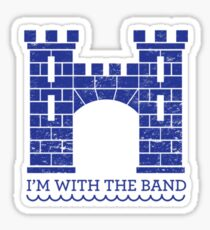 I'm with the Band Red Wedding House Frey Sticker  Sticker