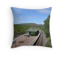 Rannoch Station Throw Pillow