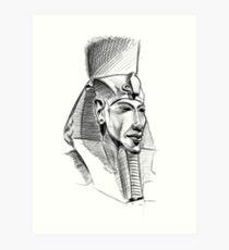 Akhenaten And Nefertiti Drawing