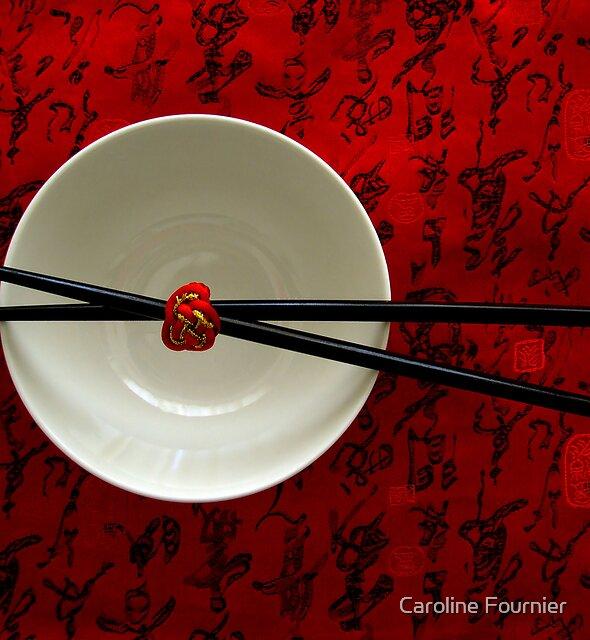 Chopsticks by Caroline Fournier