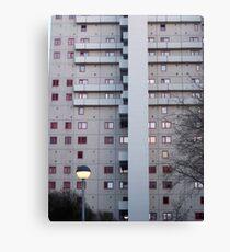 communist building east Berlin Canvas Print
