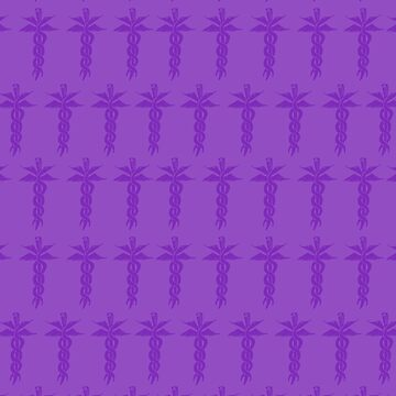 Purple Medical ID by sunlitlake