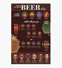 Beer Guide Photographic Print
