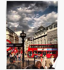 London - people Poster