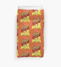 Flamin Hot Crunchy Cheetos Duvet Cover