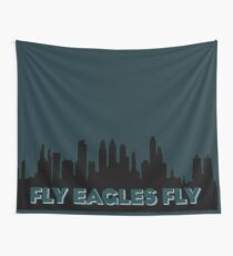 Fly Eagles Fly Wall Tapestry